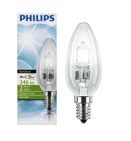 pack-of-4-philips-b35-28w-35w-ses-e14-energy-saving-ecoclassic-halogen-candle-bulbs