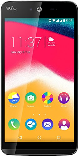 m Smartphone (12,4 cm (5 Zoll) HD IPS-Display, 1,3 GHz Quad-Core Prozessor, 8GB interner Speicher, 1GB RAM, Android 5.1 Lollipop) weiß ()