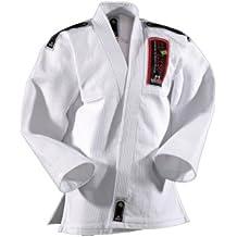 DanRho Traje Brazilian Jiu-Jitsu brasileño, color blanco, tamaño 200 cm