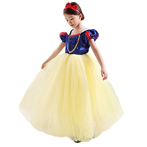 Kleid Prinzessin kostüm kostüme fee Dressing up Cosplay kostüm Kleid mit Stirnband ()