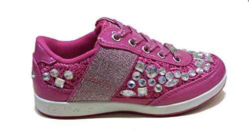Lelli Kelly Bijou Baskets Basses Neuf Chaussures. Fuchsia