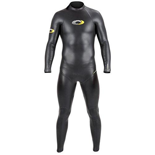 Nylon-anzug (Osprey Herren Jacke Nylon Full Länge Triathlon Neoprenanzug, Schwarz, 3X Große)