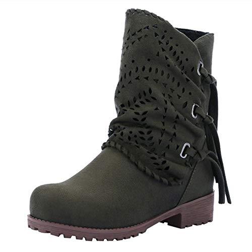 2018 Moda Botas de Alto talón Otoño Invierno Zapatos Mujer Botines d