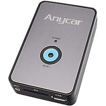 ANYCAR USB SD AUX MP3 Adaptador + Bluetooth Manos Libres para Audi: Chorus 2,