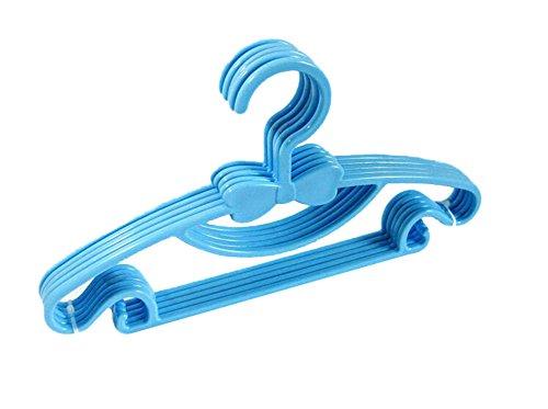 JUNGEN 10 pcs C et bébés claies de séchage en plastique, nœud à deux boucles, aimable, Bleu