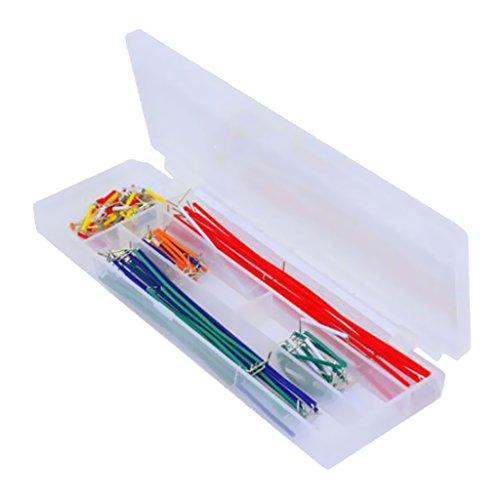 Gazechimp 140 Stück Platine Jumper Kabel Draht Kit mit Aufbewahrungbox - 2