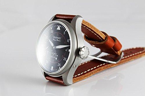 Orologio automatico parnis heliobil 2107 orologio in for Orologio legno amazon