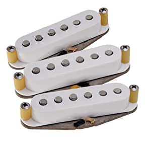 Tonerider TRS3 Set micros classic blues pour Stratocaster Blanc (Import Allemagne)