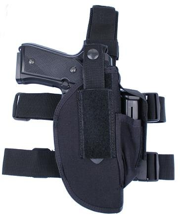 CI Commando Pistolen Beinholster GUN1 Holster mit Magazintasche