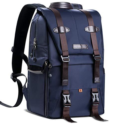 LcBag Im Freien wasserdichte Multifunktions-DSLR-Kamera-justierbarer aufgefüllter Reise-Rucksack für Fotografie-Enthusiasten-Mode-Fall 10.63 * 6.69 * 16.53 Zoll
