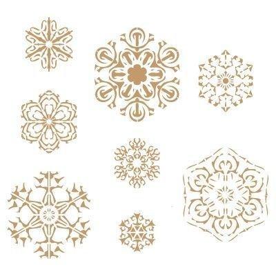 stencil-deco-fiesta-008-navidad-copos-de-nieve-medidas-aproximadastamano-del-stencil-20-x-20cm-taman
