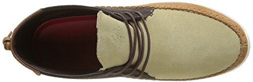 Asfvlt Yuma, Baskets Basses Mixte Adulte Marron (Sand/Earth/Natural)