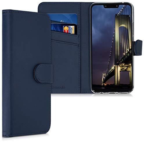 kwmobile Huawei Mate 20 Lite Hülle - Kunstleder Wallet Case für Huawei Mate 20 Lite mit Kartenfächern und Stand
