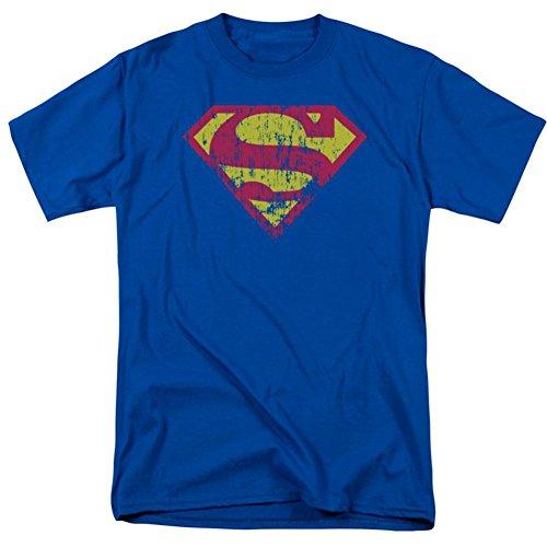 Superman DC Comics T-Shirt für Erwachsene, klassisches