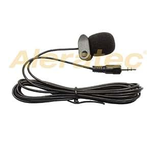 Clip-On Mini-Mikrofon 3,5 mm Klinke für PC & Laptop Schwarz