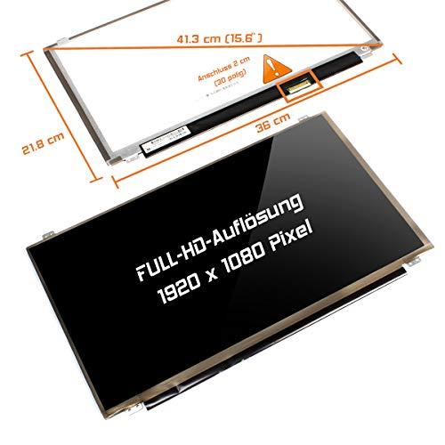 "Laptiptop 15,6\"" LED Display Screen Glossy Ersatz für HP Pavilion 15-Ak032ng 1920x1080 FHD Bildschirm Panel"