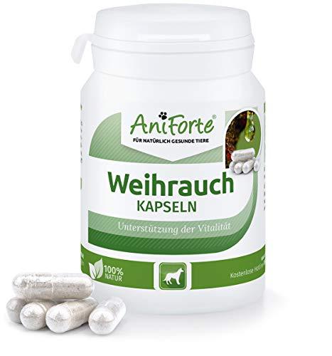 AniForte Weihrauch-Kapseln 50 Stück - Naturprodukt für Hunde