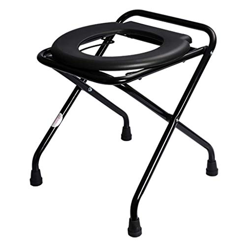 DYFFF Breite Höhe KopfendeCommode Sitz WC Potty Stuhl WC Sicherheitsrahmen Tragbare Versatile Multifunktions ältere Behinderte Menschen mit Behinderungen Krankenhaus Slip-Resistant Stuhl