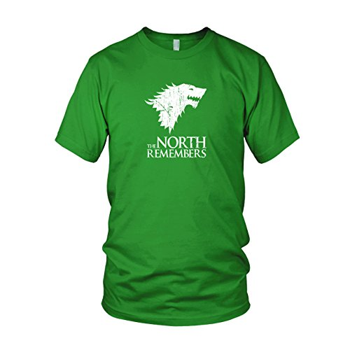 GoT: The North Remembers - Herren T-Shirt Grün
