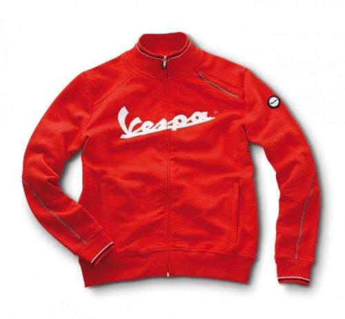 Preisvergleich Produktbild Original Vespa Herren Sweatshirtjacke rot Größe S
