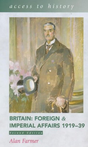 Portada del libro By Alan Farmer Britain: 1919-39: Foreign and Imperial Affairs (Access to History) (2nd Revised edition)