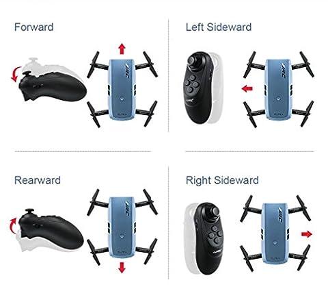 TWIFER JJRC H47 Elfie Foldable Pocket Drone Mini Quadcopter Selfie 720P WiFi Camera BU