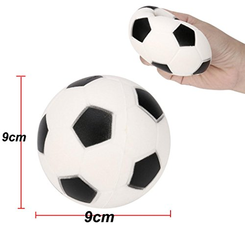 Squishy Toy, Kingwo Slow Rising Toys Football Squishy Decompressio Cream Scented Kid Toys Gift