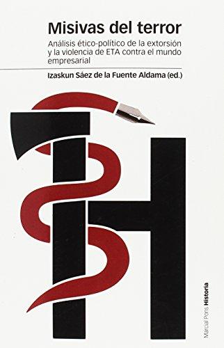 Misivas del terror (Estudios) por Izaskun Sáez de la Fuente Aldama
