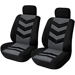 KKmoon Lot de 2 housses de siège avant universelles pour voitures