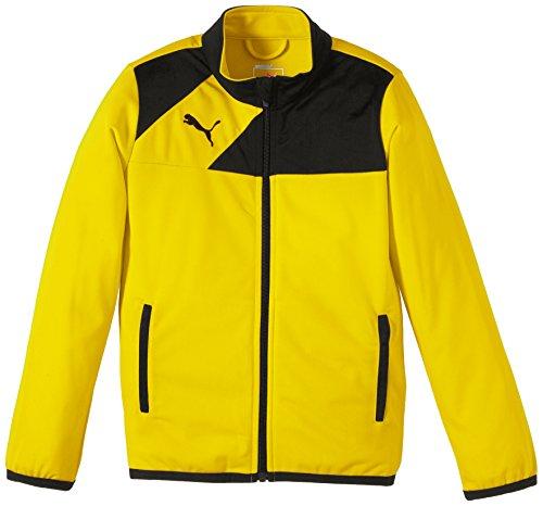 Puma Jacke Esquadra Poly Jacket - Cortavientos para niño, Color Amarillo, Talla 176 cm