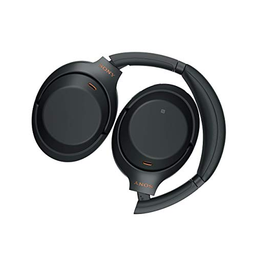 Sony WH-1000XM3 Bluetooth Noise Cancelling Kopfhörer (30h Akkulaufzeit, Touch Sensor, Headphones Connect App, Schnellladefunktion) schwarz - 16