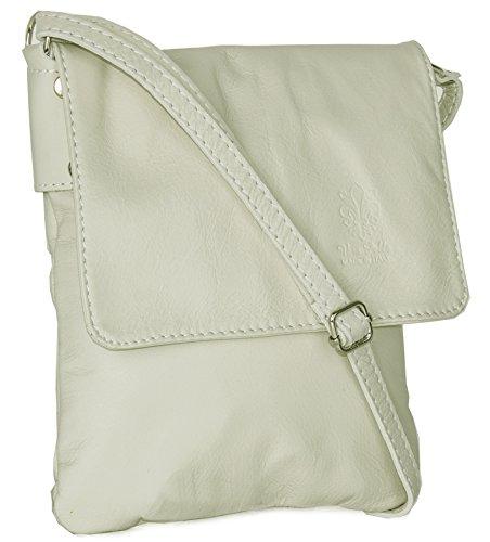 Big Handbag Shop - Borsa a tracolla donna Cream