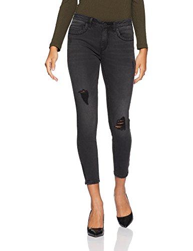 ONLY Damen Slim Jeans 15138624, Schwarz (Black), W29/L30