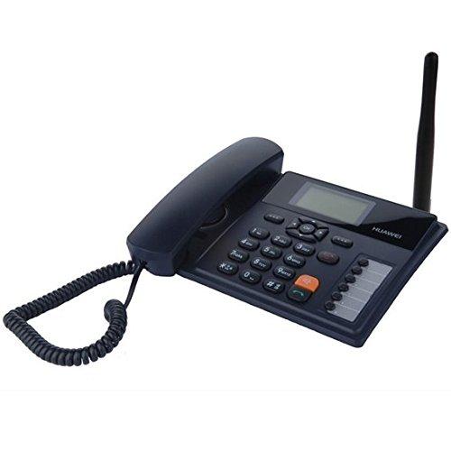 Teléfono de escritorio con SIM Card Huawei F615GSM–3G Fixed Wireless Terminal–para todas las le SIM de todos los sanitarios Muebles–con antena externa