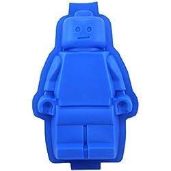 Victor International vlego figuras Lego Mini Molde, varios colores (No Elegible), silicona, multicolor