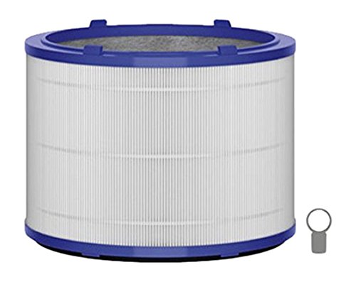 Dyson 967302-07 1pc(s) air filter - air filters (Blue, Grey, White, 99.95%, Dyson Pure Cool Link Tischluftreiniger, Dyson Pure Hot+Cool Link Luftreiniger, 246 mm, 246 mm)