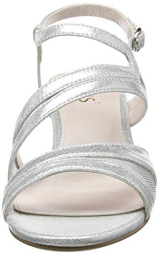 Lotus Desponia, Sandales Bride arrière femme Silver (silver Shimmer)