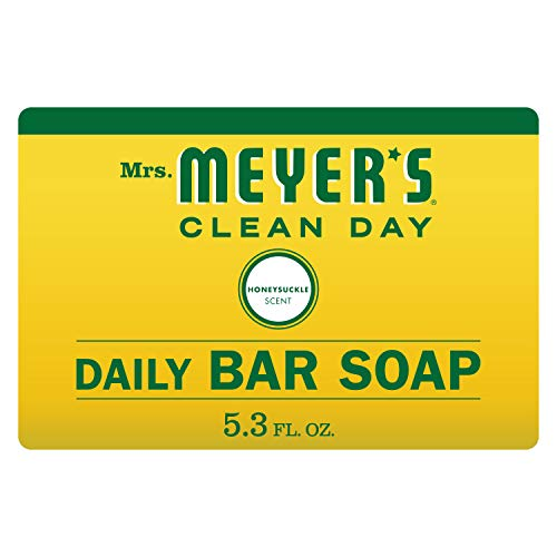 Mrs. Meyer 's Clean Day. Daily Bar Seife, Geißblatt, 5,3oz -