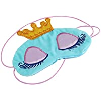 Dailyinshop Corona de la Princesa de fantasía Ojos Cubierta Visera Parche Dormir del Recorrido con los Ojos vendados de los Ojos de la máscara de Sombra Parches portátiles