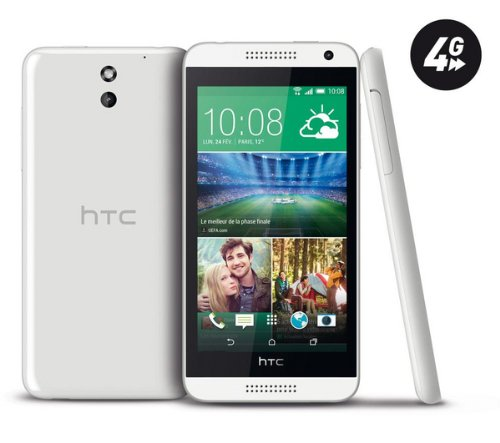HTC Desire 610 - Weiß - 8 GB - 4 G - Smartphone - The HTC Desire 610 Nano Sim Smartphone Features Excellent Connectivity and Advanced Media Functions, [UK Import] (Htc Desire 610)