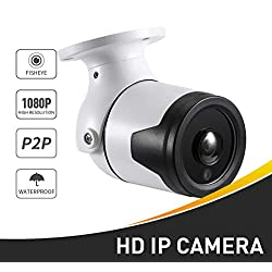 Überwachungskamera wasserdichte 6 Array Ir 1920 X 1080P Bullet Outdoor Ip Kamera Metall 2.0Mp Überwachungskamera Onvif Nachtsicht P2P CCTV Cam 1080P