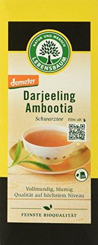 Lebensbaum Darjeeling Schwarztee, demeter, 40 g