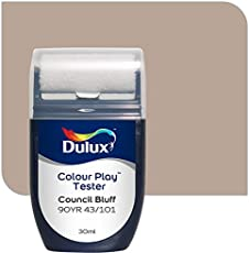 Dulux Color Play 30 ml Paint Tester (Council Bluff, Color Code: 90YR 43_101)