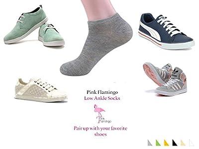 Pink Flamingo Women's Ankle-length Socks