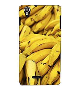 Fuson Designer Back Case Cover for Lava Iris X800 (Banana Fruits Healthy Natural )