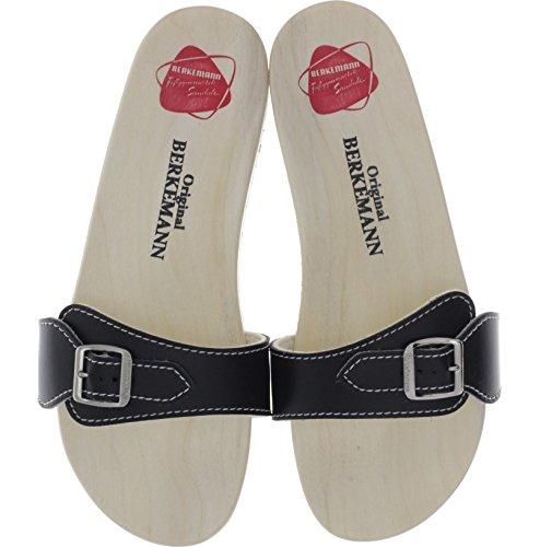 Berkemann Original Sandale Unisex-Erwachsene Pantoletten Schwarz
