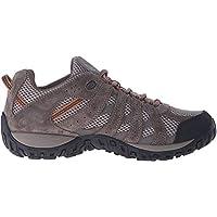 Columbia Men's Redmond Hiking Boot, Pebble, Dark Ginger, 12 Wide