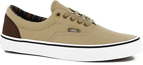 Vans U ERA Sneaker, Unisex adulto Khaki True White