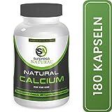 Surpresa Natural - Natural Calcium - 180 hochdosierte Kapseln | 100% natürliches Kalzium aus der Rotalge, Calcium del Mar | Meeres-Kalzium | für starke Zähne, Knochen und Nerven