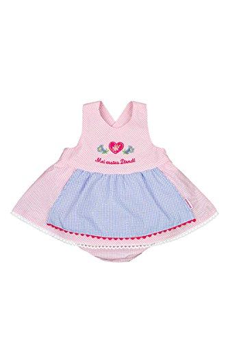 Baby - Mädchen P.Eisenherz Baby Dirndl rosa, Rosa, 74/80